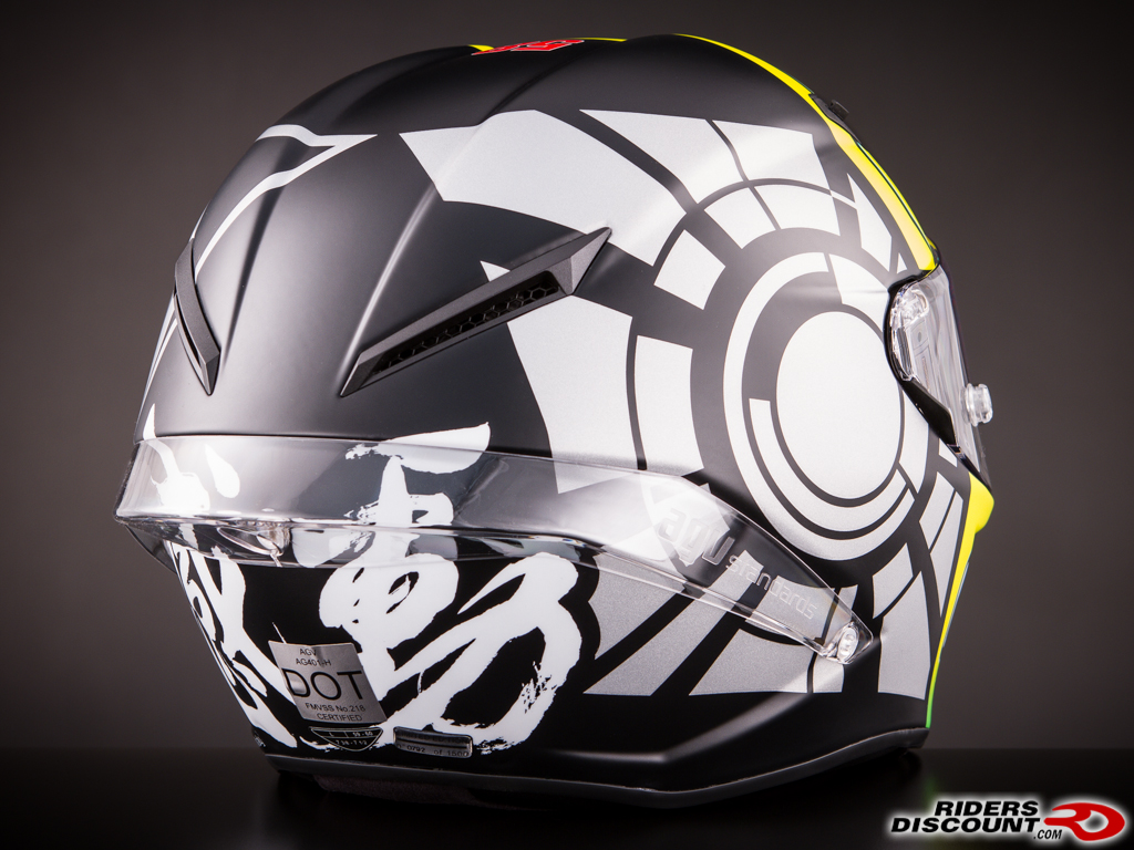 agv corsa valentino rossi winter test limited edition helmet suzuki gsx r motorcycle forums. Black Bedroom Furniture Sets. Home Design Ideas