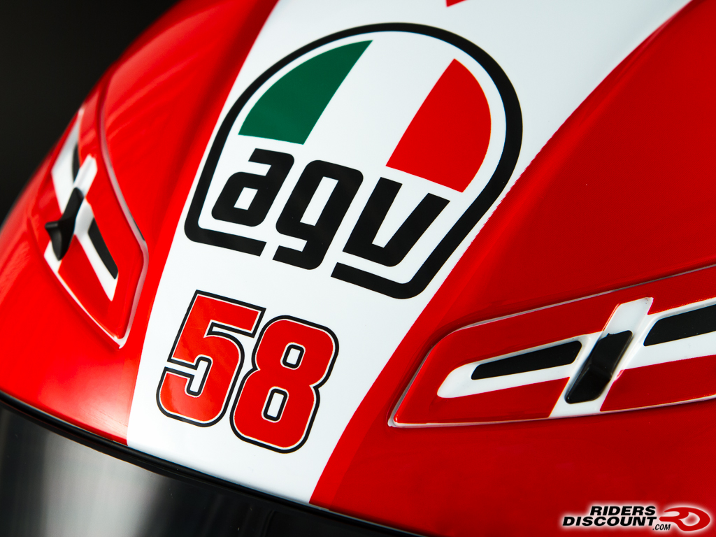Agv Gp Tech Marco Simoncelli Tribute Helmet Bmw S1000rr Forums Bmw Sportbike Forum