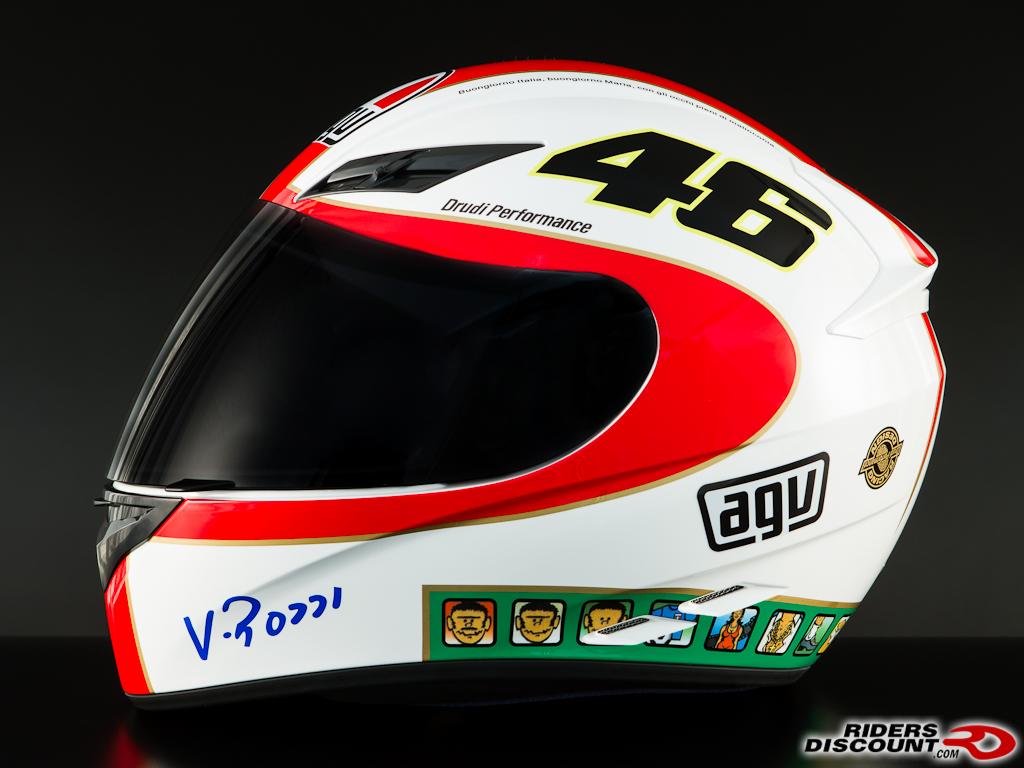 AGV K3 Rossi Icon 46 Replica Helmets