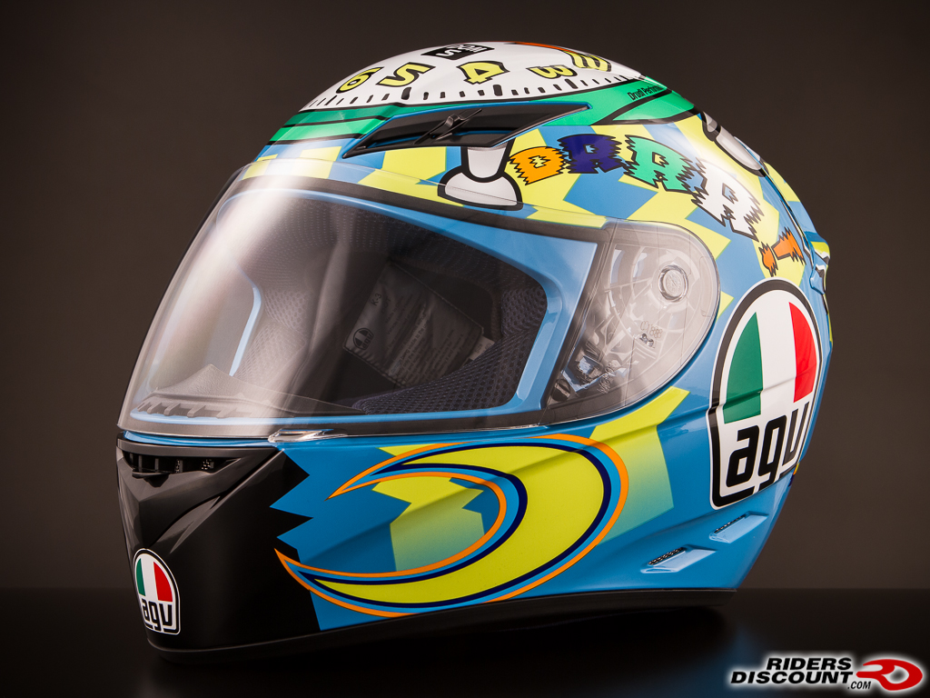 agv k3 valentino rossi helmets triumph675 net forums. Black Bedroom Furniture Sets. Home Design Ideas