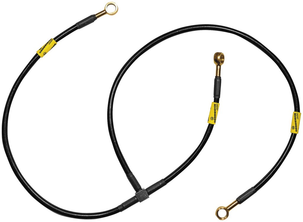 Steel Braided Brake Lines At Master Cylinder : Goodridge superbike pro into brake lines honda