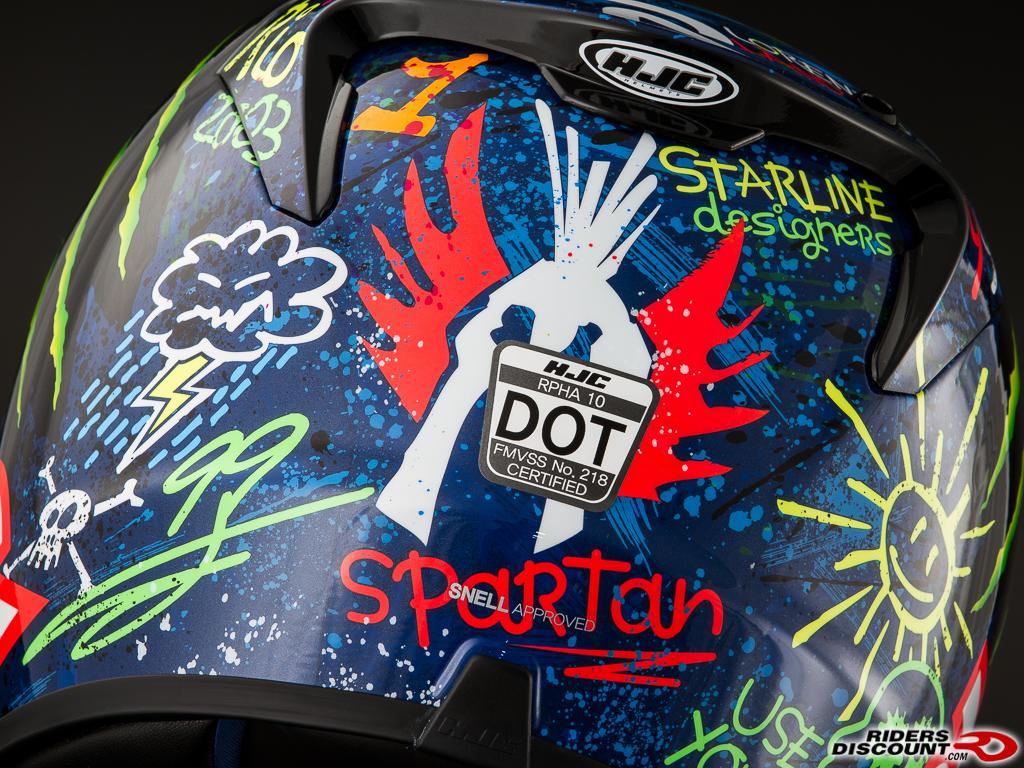 Hjc Rpha 11 >> HJC RPHA-10 Lorenzo Graffiti Helmet - Triumph Forum: Triumph Rat Motorcycle Forums