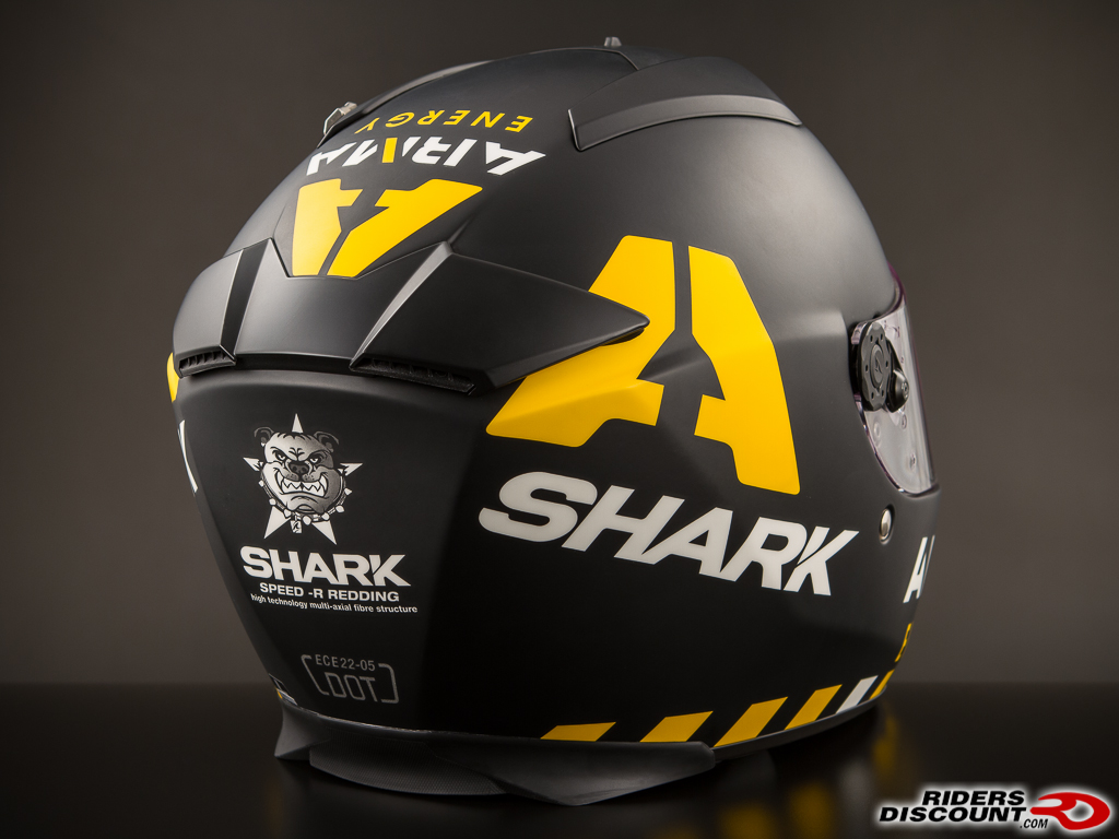 shark speed r scott redding replica helmet kawasaki. Black Bedroom Furniture Sets. Home Design Ideas
