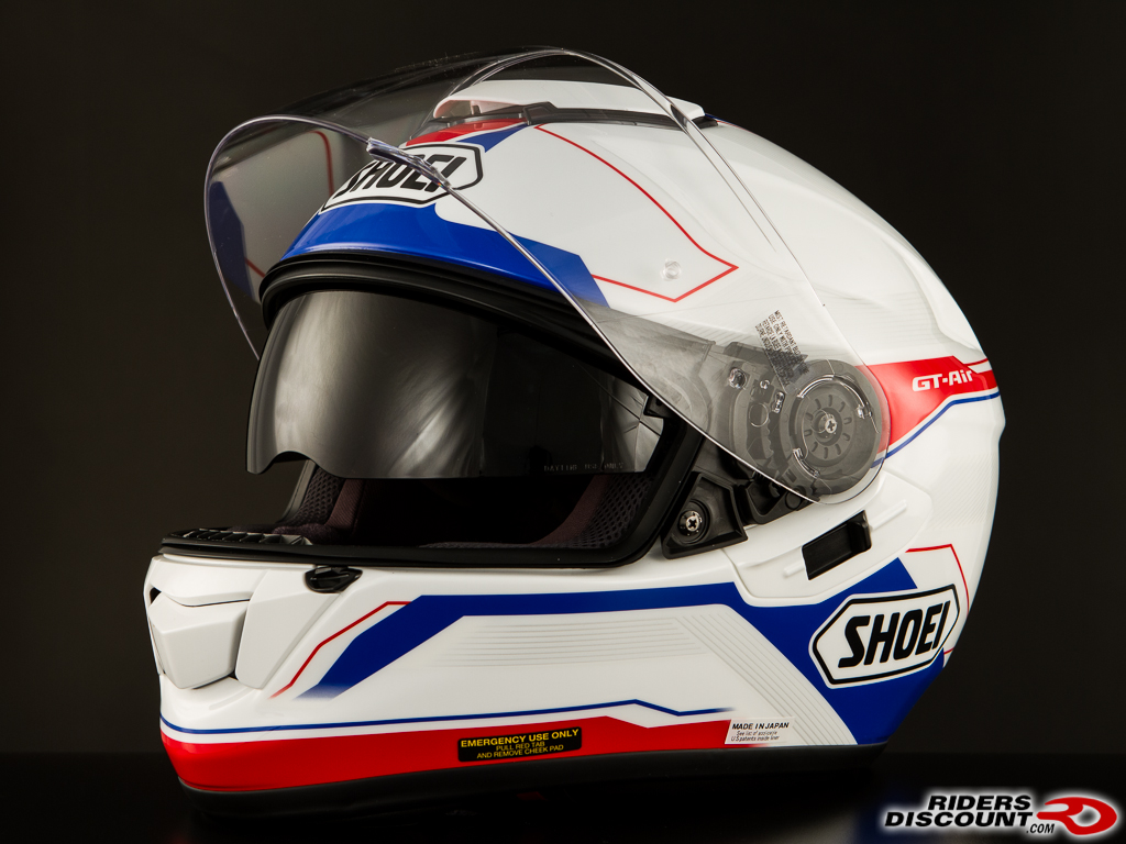 shoei gt air journey tc2 wht red blue 4