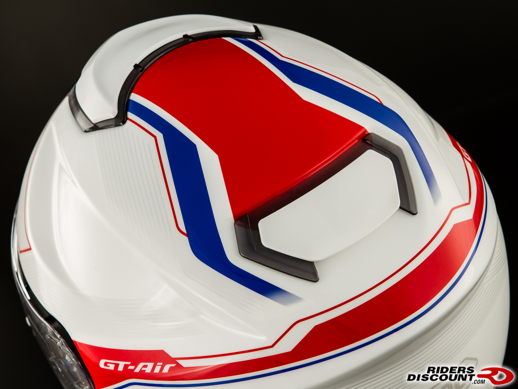 shoei gt air journey tc2 wht red blue 7