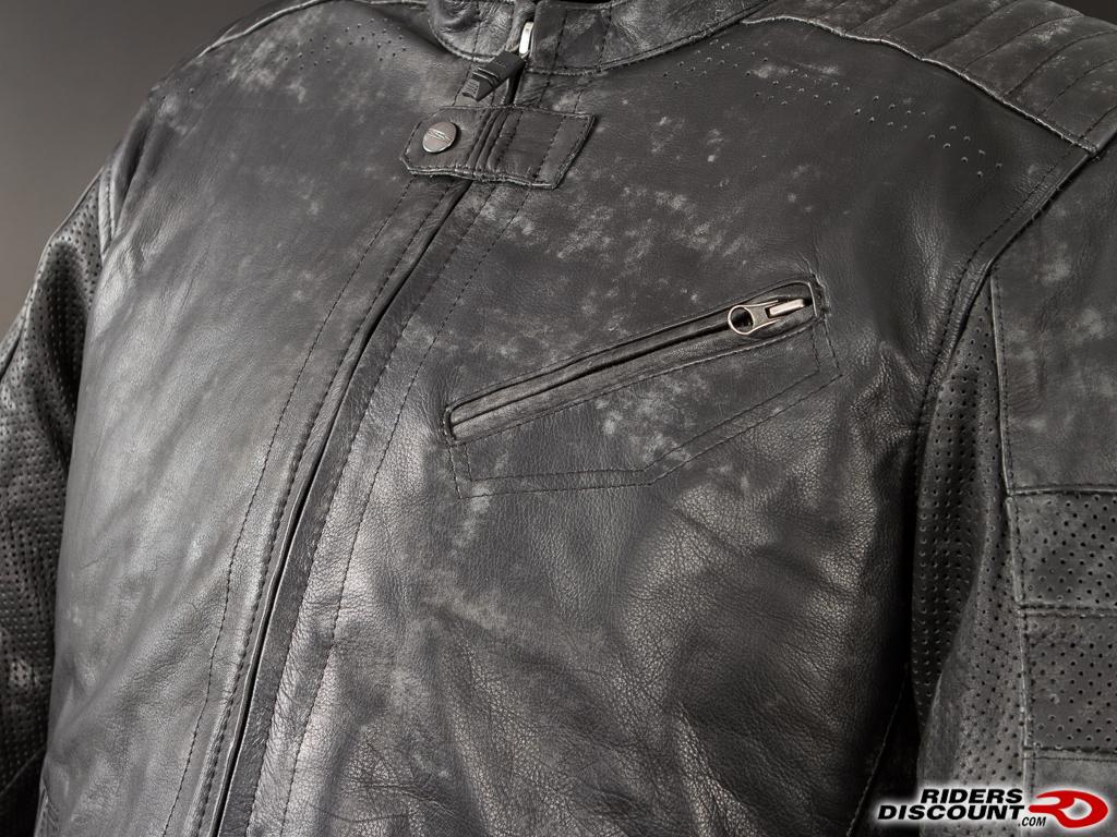 Speed and Strength Speed Shop Leather Jacket - Suzuki SV650 Forum ...