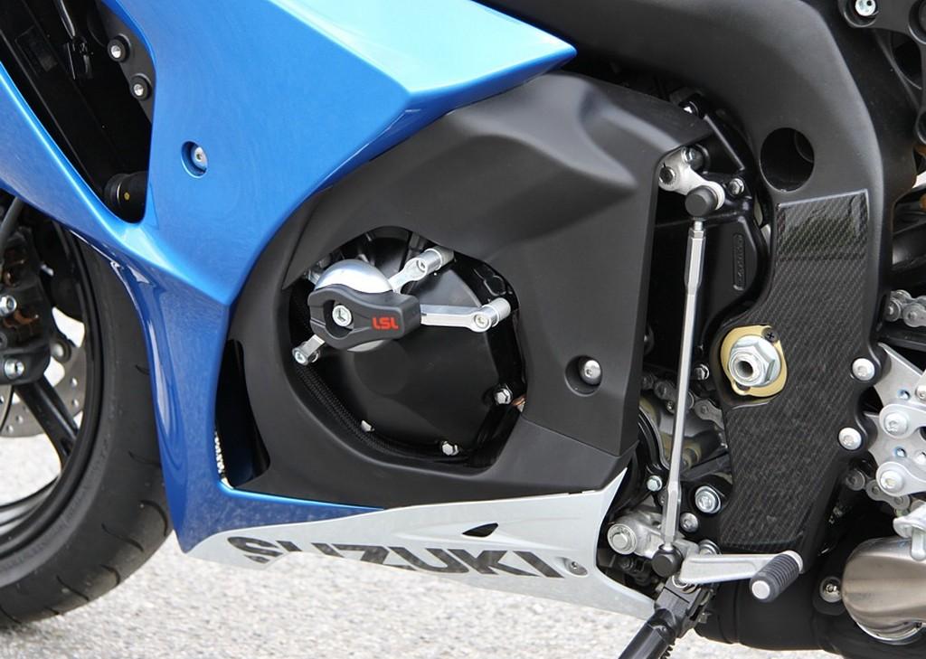LSL Frame Sliders for Suzuki GSXR **Update for 2011 Models** - GSXR.com